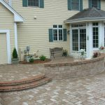 Large Stone Patio